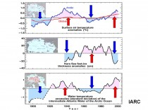 Arctic ice refreezing after falling short of 2007 record  ARCTIC6 thumb