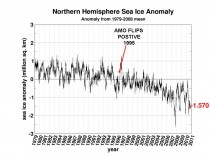 Arctic ice refreezing after falling short of 2007 record  ARCTIC8 thumb